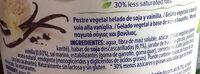 Madagascan Vanilla - Ingredientes
