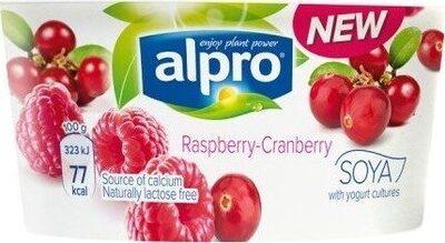Raspberry & Cranberry Yogurt - Produkt - de