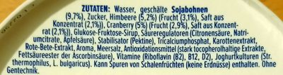 Himbeere-Cranberry - Ingredients - de