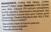 Caffè - Ingredients - en