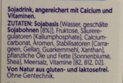 Barista Soya - Ingredients - de