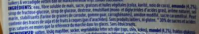Almond salted caramel - Ingredients - en