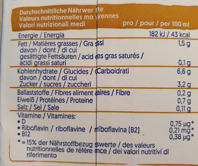 Barista Avena - Wiederverwertungsanweisungen und/oder Verpackungsinformationen - de