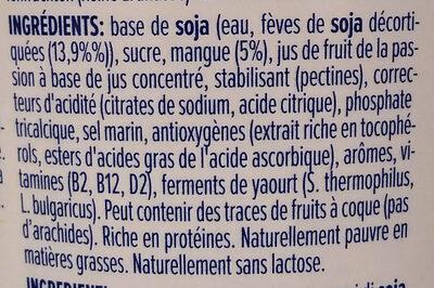 Skyr style mango - Ingrédients - fr