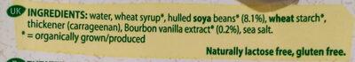 Dessert Vanilla - Ingredients - en