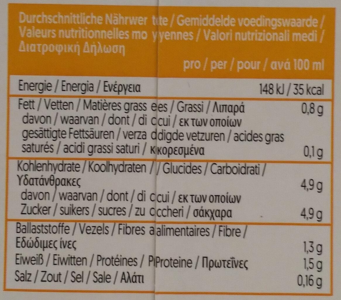 Caffè soja carramel - Voedingswaarden - de