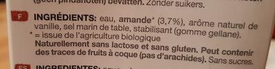 Provamel Almond - Ingrédients