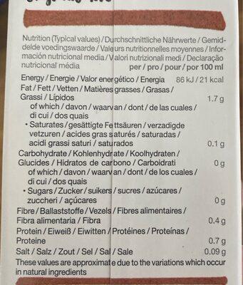 Provamel Almond - Nutrition facts - en