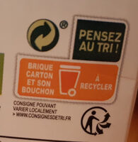 Provamel Almond - Instruction de recyclage et/ou information d'emballage - fr