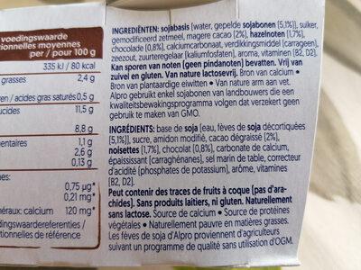 Chocolate-Hazelnut Dessert - Ingredients - fr