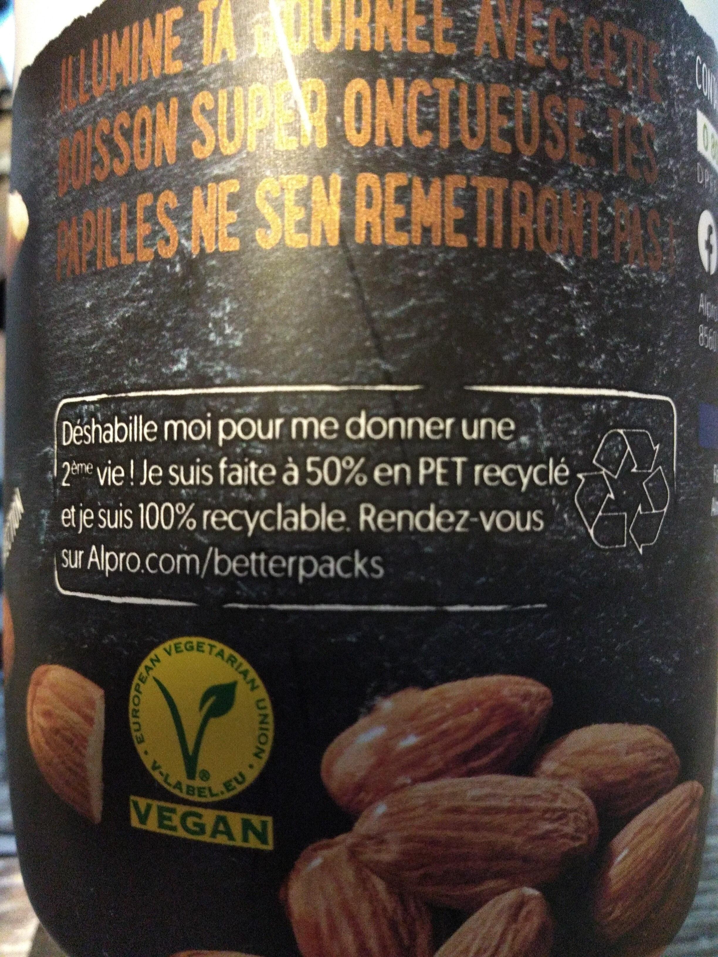 Creamy Almond - Istruzioni per il riciclaggio e/o informazioni sull'imballaggio - fr
