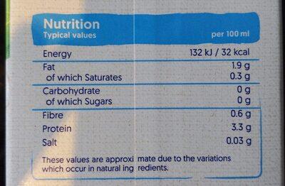Organic Soya Unsweetened U.H.T. - Nutrition facts - en