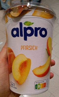 Alpro Pfirsich - Product - de