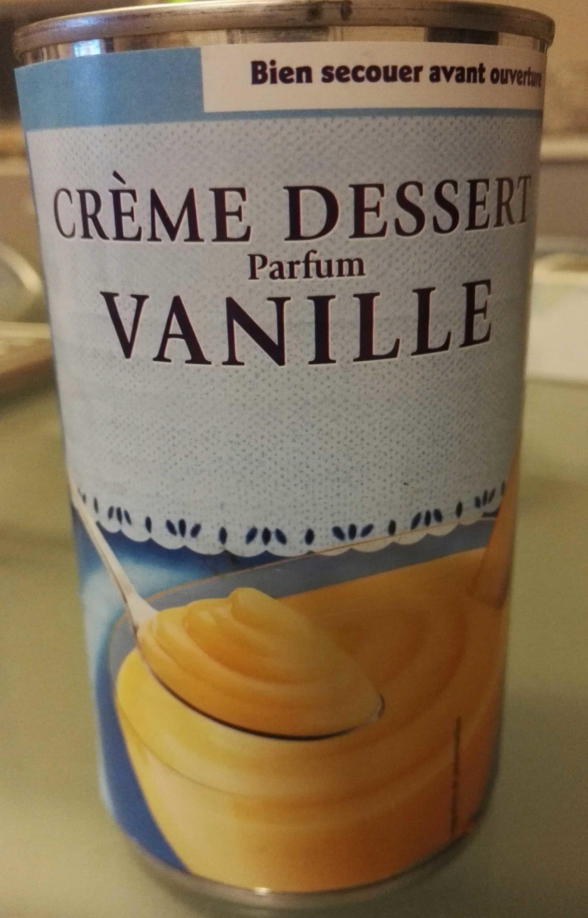 Crème dessert vanille - Product - fr