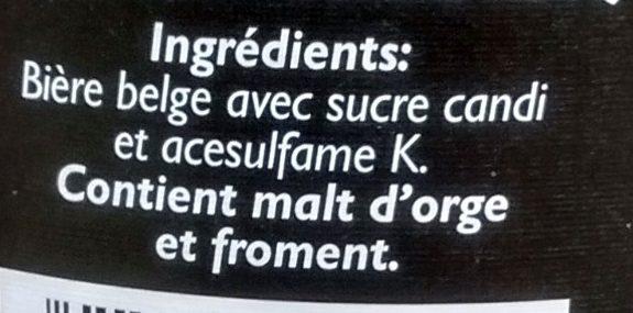 Faro - Ingredienti - fr