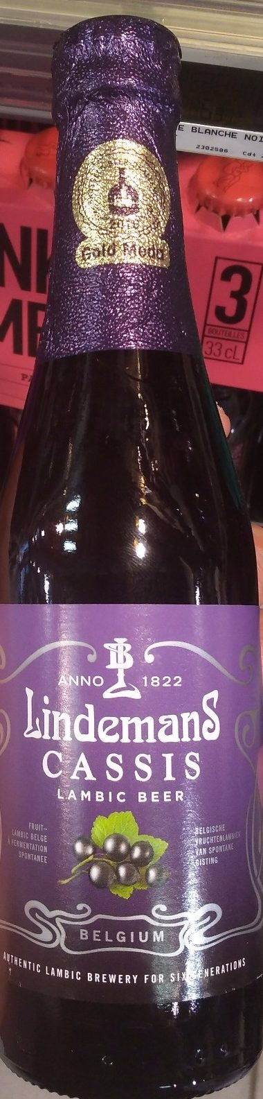 Lambic Beer Cassis - Product - fr