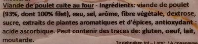 Filet de Poulet à la Broche - Ingredients - fr