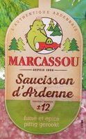 Saucisson d'Ardenne - Prodotto - fr