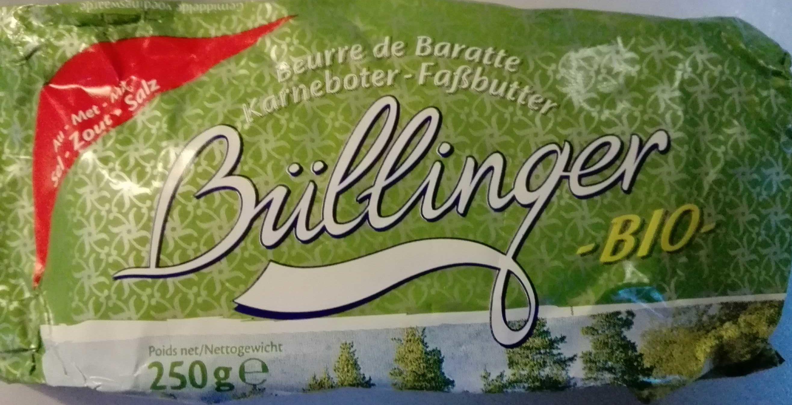 Beurre de Baratte Bio Salé - Product