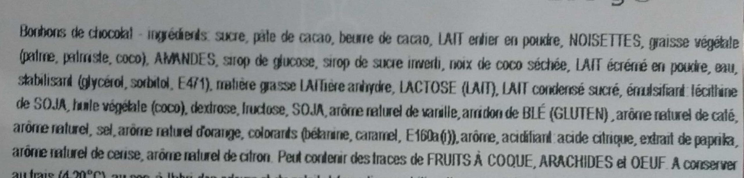 Bonbons de chocolat - Ingredients - fr