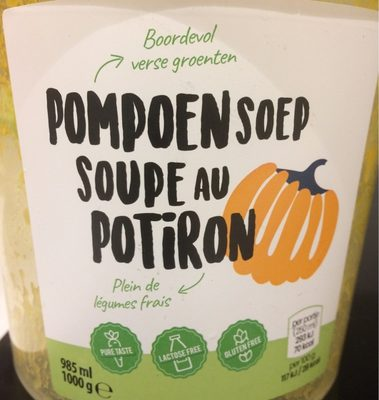 Soupe au potiron - Product