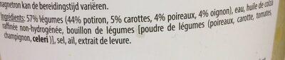 Soupe au potiron - Ingrediënten