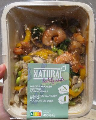 Crevettes sauvages teriyaki nouilles de soba - Product - fr