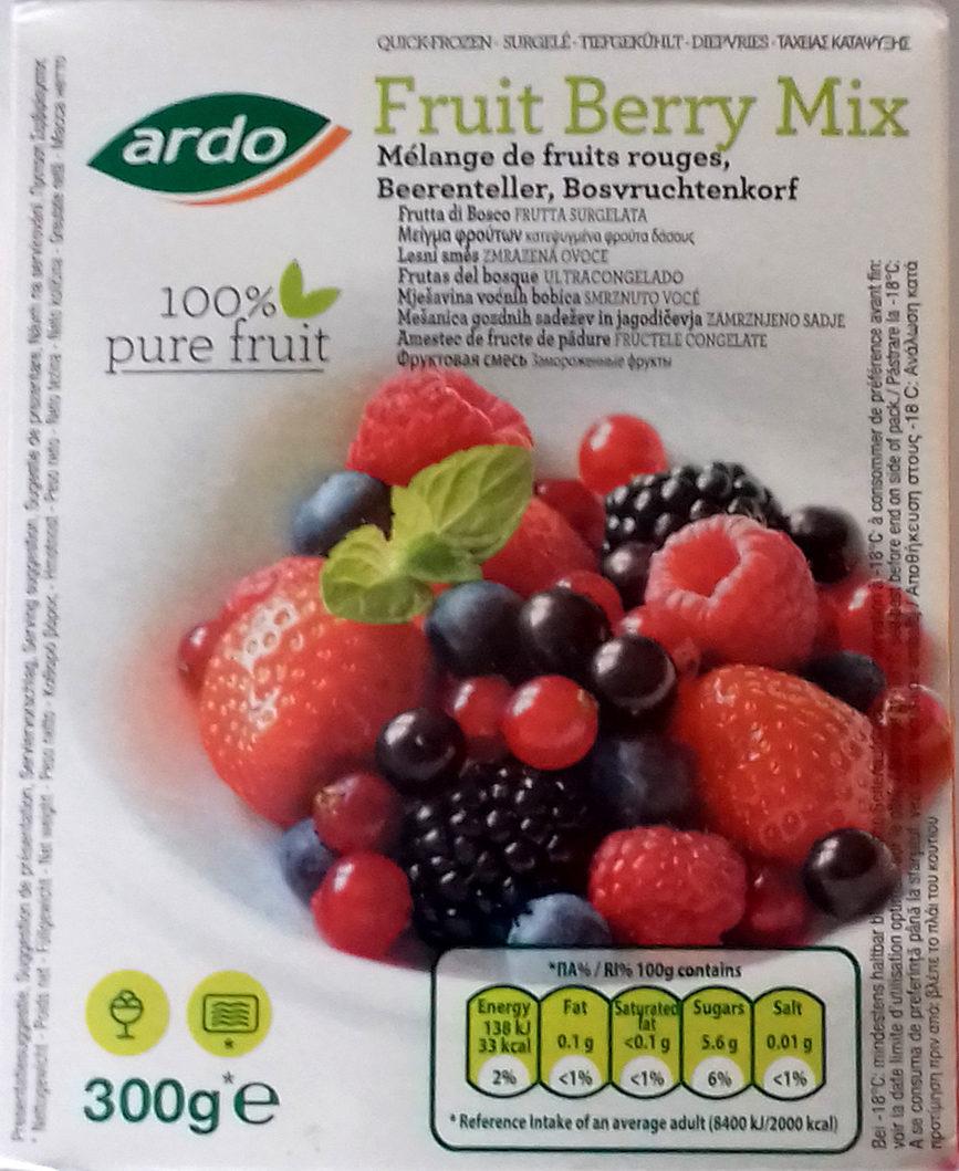 Fruit Berry Mix 100% pure fruit - Producte - es