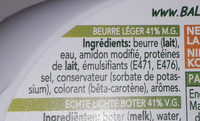 Butter, Halbfett - Ingredients - fr