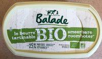 Beurre Balade Bio - Product - fr