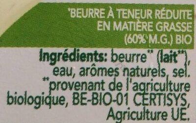 Bio zeezout - Ingredients - fr