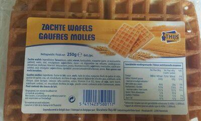 Gaufres Molles - Produit