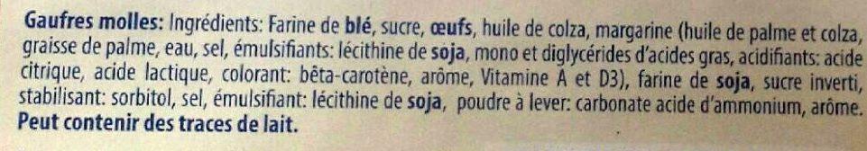 Gaufres Molles - Ingrediënten