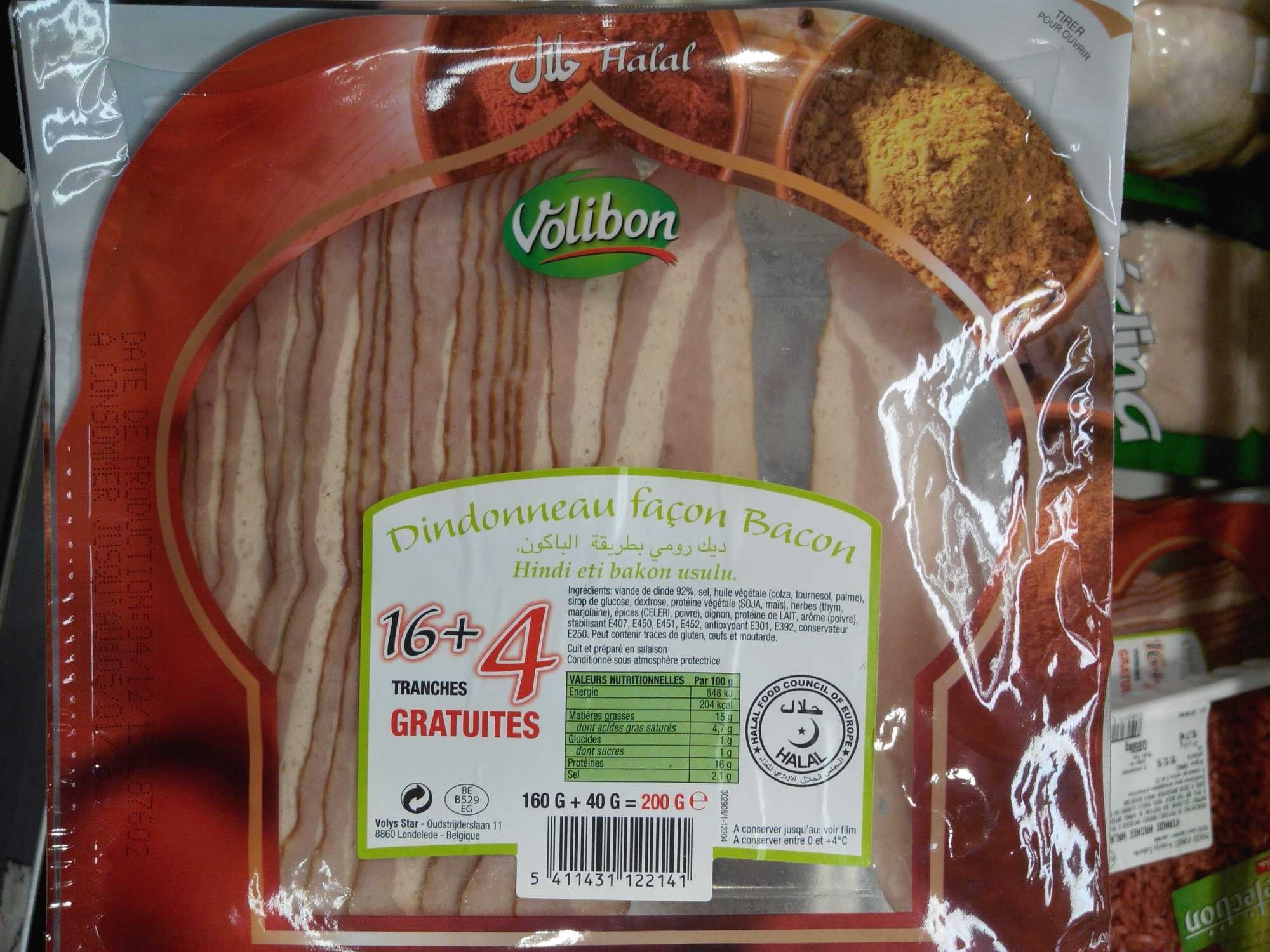 Dindonneau façon Bacon - Produit