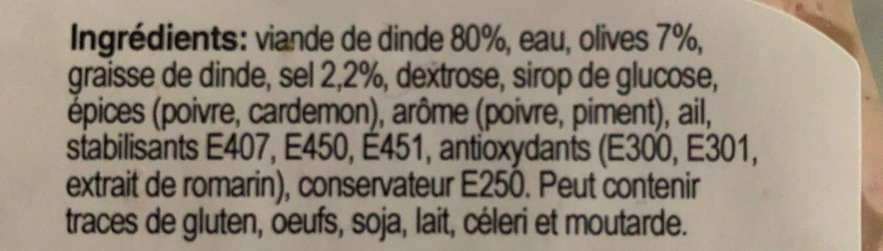 Roulade de volaille - Ingrediënten