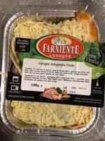 Lasagne bolognaise verde - Product - fr