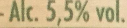 Gauloise ambrée - Voedingswaarden