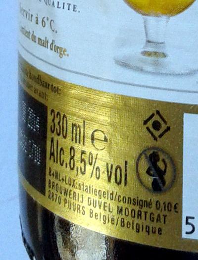 Bière spéciale blonde de haute fermentation - Ingredients