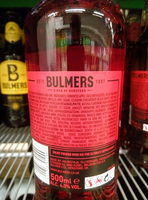 Cider Red Berries & Lime - Produit