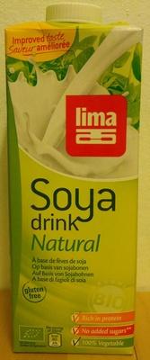 Boisson biologique à base de fèves de soja - Product