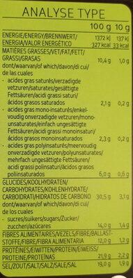 Soupe Miso - Informations nutritionnelles - fr