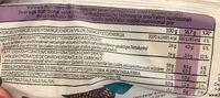 Galettes de riz au chocolat noir - Informations nutritionnelles - fr
