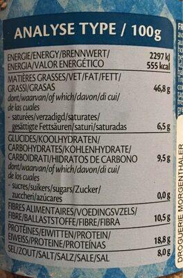 Lima Gomasio Sesamsalz Natur Bio Glas 225 G - Informations nutritionnelles - fr