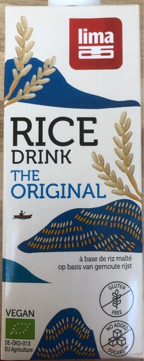 Rice drink the original - Product - fr