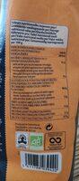 Yannoh instant original - Nutrition facts - fr