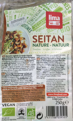 Seitan nature - Produit - fr