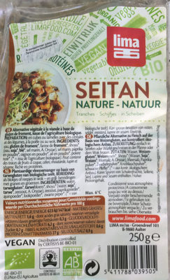 Seitan nature - Product