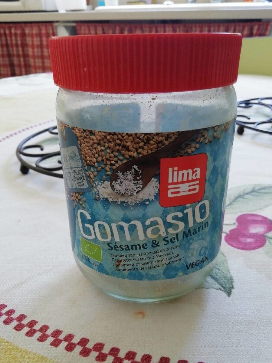 Gomasio sésame et sel marin - Product