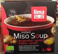 Soupe Traditionnelle Japonnaise Au Miso & Gingembre - Product - fr
