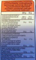 Soupe Traditionnelle Japonnaise Au Miso & Gingembre - Nutrition facts - fr
